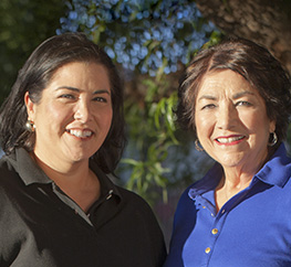 Mary Ann Garcia and Marisa Garcia